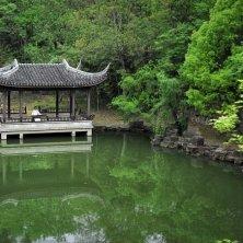 padiglione in giardino a Suzhou