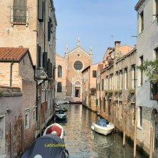 Santa Maria dell'Orto vista dal canale