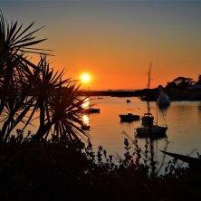 tramonto costa bretone