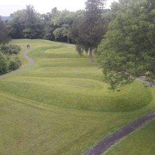 vista di Serpent Mound
