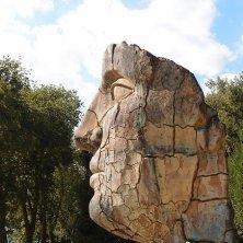 scultura nel parco
