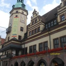 torre orologio Lipsia