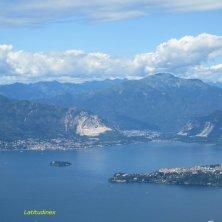 lago Maggiore visto funivia Laveno