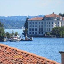 vista isole da Baveno lago Maggiore