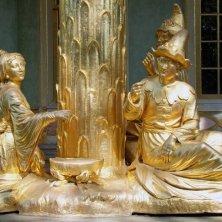 sculture dorate Potsdam