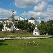 vista sul monastero della Trinità