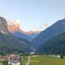 Pieve_vista sulle cime_fotoEVallarin autunno in Val di Zoldo