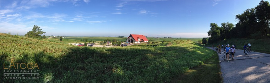 RAGBRAI XLI Day 2: Danish Immigrant Museum and countryside in Elk Horn, Iowa