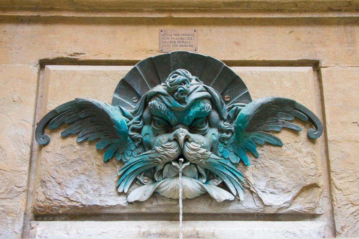 Unknown Fountain from Boboli Garden in Florance Italy