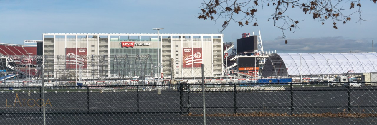 Super Bowl 50 Preparations at Levis' Stadium in Santa Clara, California