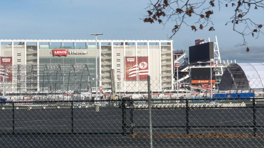 Super Bowl 50 Preparations at Levis' Stadium in Santa Clara, California