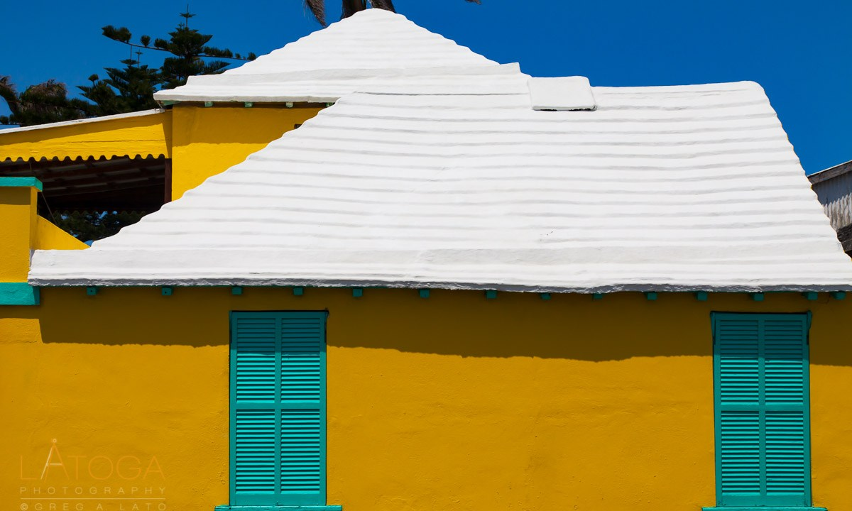 Bermuda Yellow House