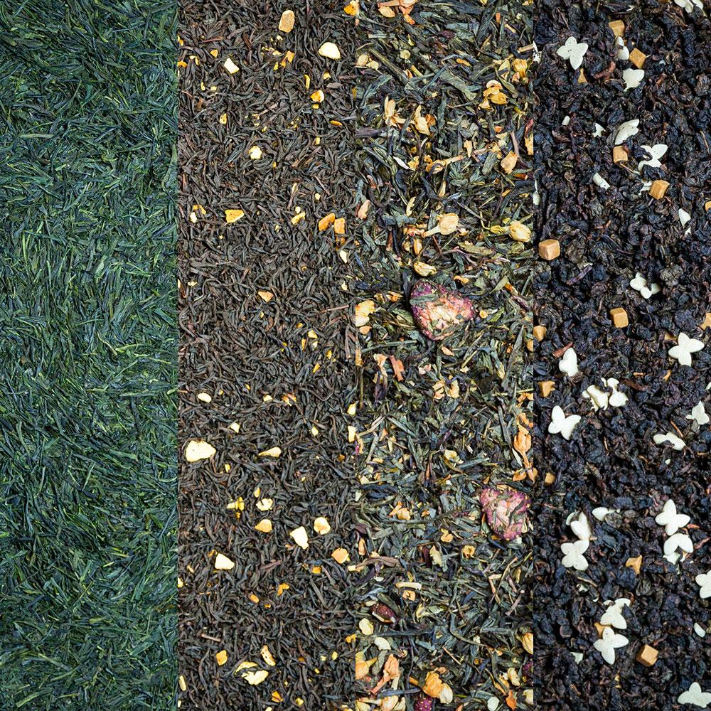 Les couleurs du thé La torrefaction d'Arcachon
