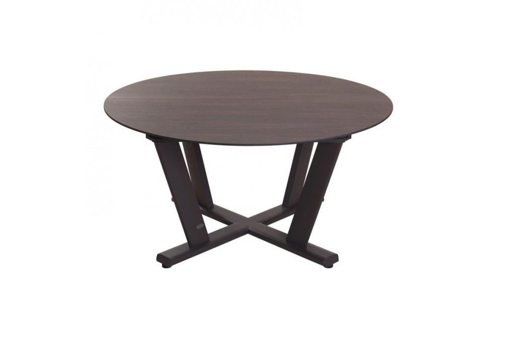 Table Ronde extensible 146206x146cm Hegoa LES JARDINS