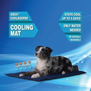 tapis rafraichissant pour chien aqua coolkeeper