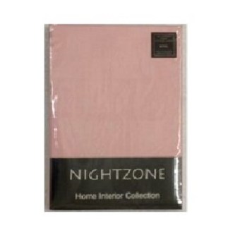 "12"" Deep Light Pink Fitted Sheet (Value Range)"