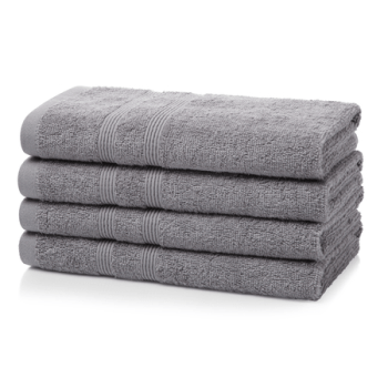 500 GSM Royal Egyptian Light Grey Hand Towels