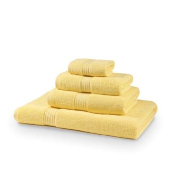 700 GSM Royal Egyptian Luxury Double Yarn Lemon Bath Towels