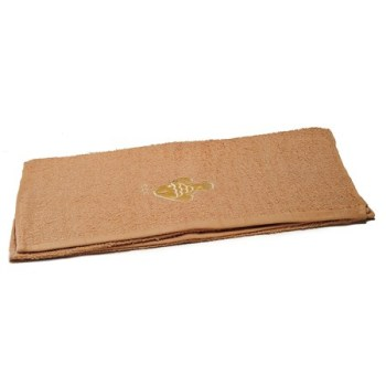 Fish Embroidered Brown Bath Sheets – Value Range