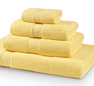 700 GSM Lemon Towel Bale 5 Piece – 2 Face Cloths, 1 Hand Towel, 1 Bath Towel, 1 Bath Sheet