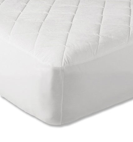 """9"""" Quilted 4ft Mattress Protector"""
