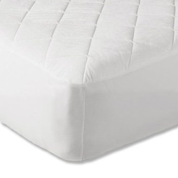 "9"" Quilted King Size Mattress Protector"