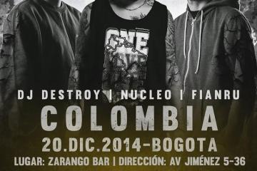 Dj Destroy – Nucleo – Fianru en Colombia | El Sello Pro