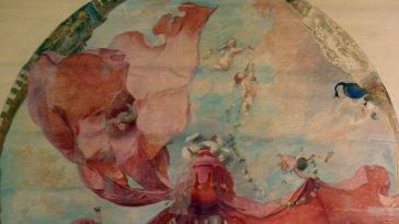 Découverte d'un plafond inédit d'Eugène Lami à Chantilly