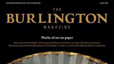 The Burlington Magazine – n° 1419 vol CLXIII – June 2021