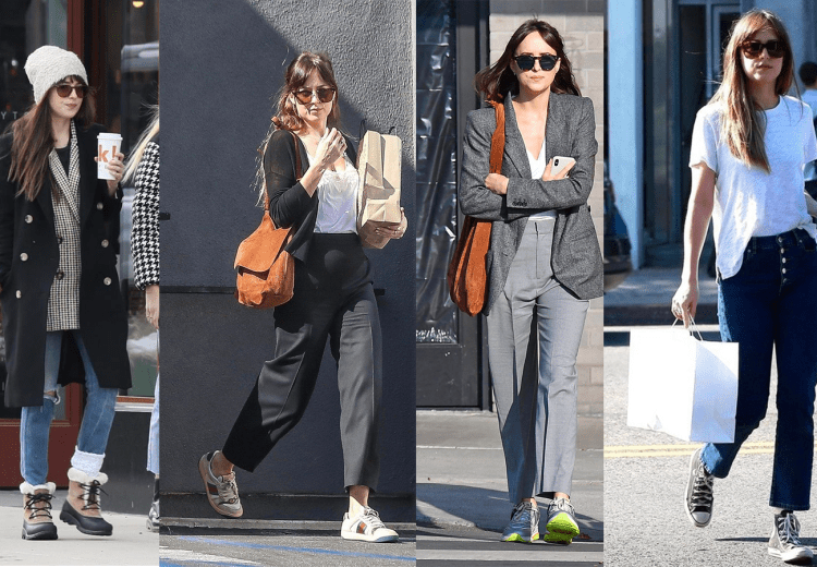 Street Style Dakota Johnson