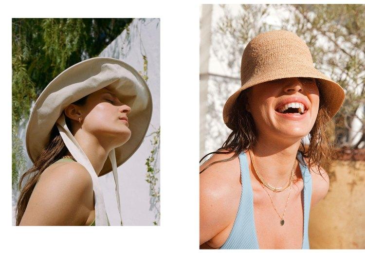 Sombreros y gorros de verano
