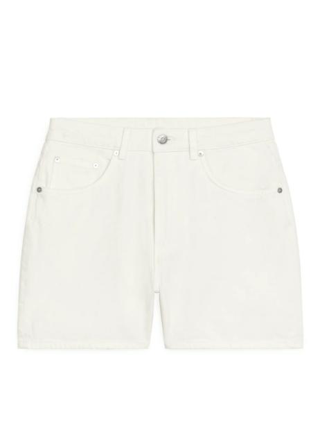 denim shorts arket