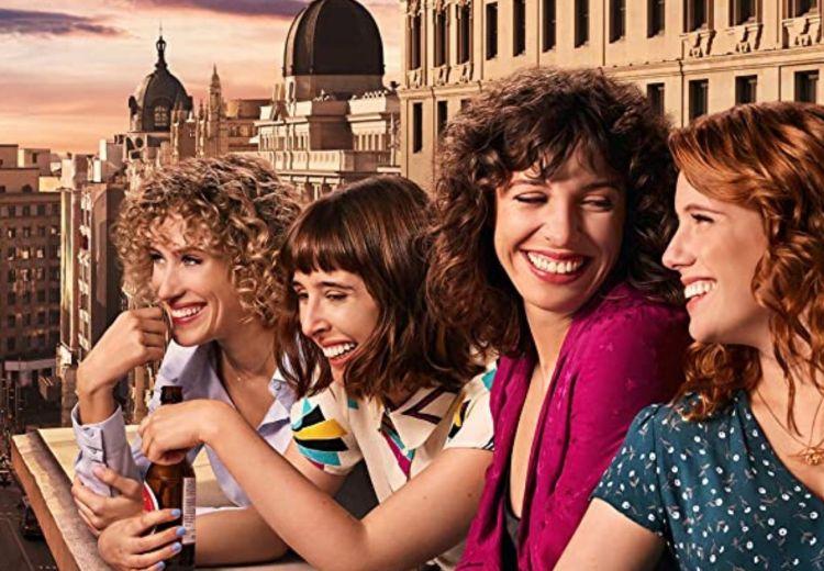 Cartel promocional Valeria Netflix