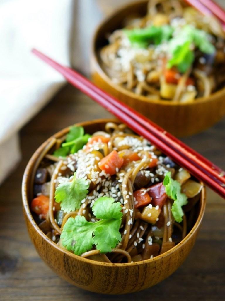 Dieta flexitariana noodles