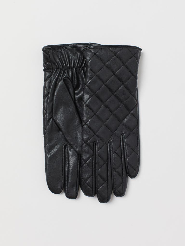 accesorios para el frío guantes guateados H&M