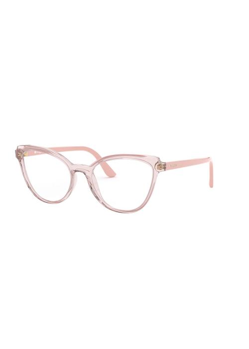 Gafas transparentes rosas