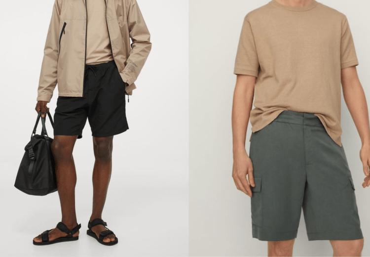 Bermudas y pantalones cortos