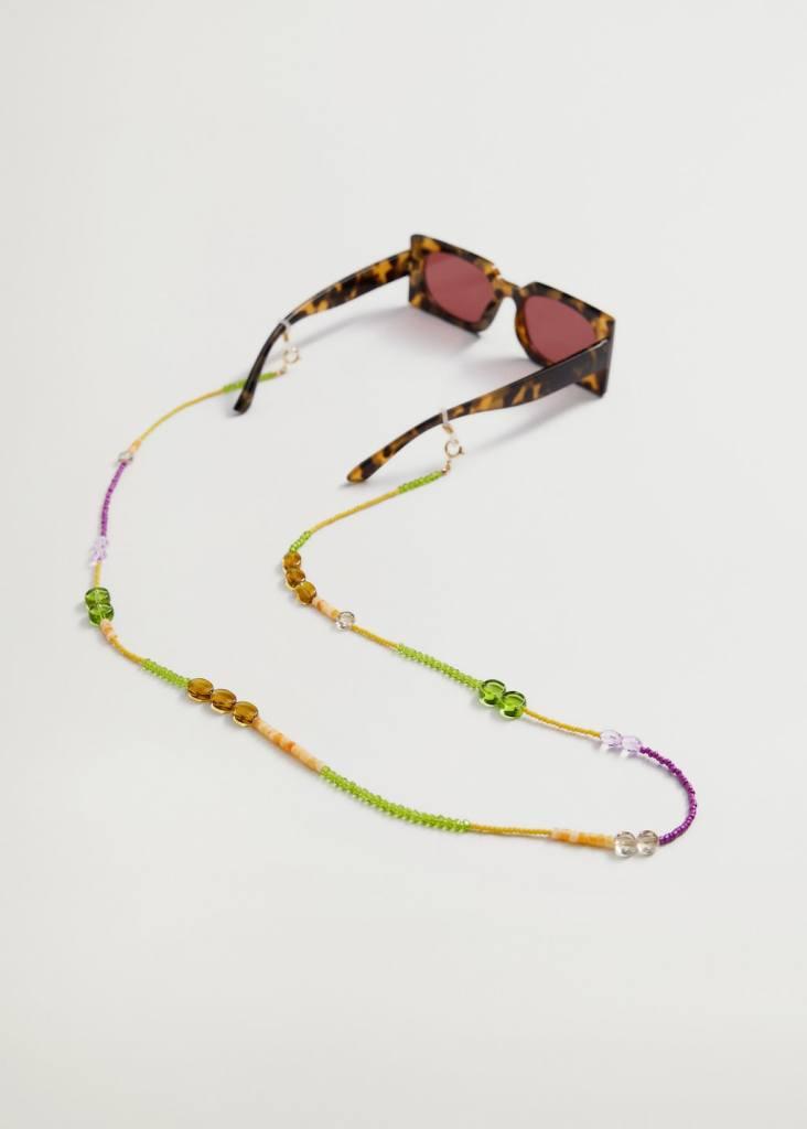Cadenas con cuentas y abalorios para las gafas