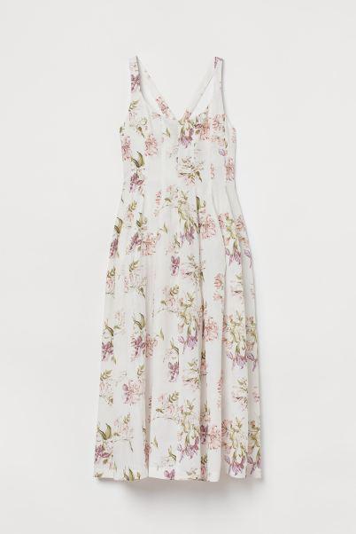 Vestido flores H&M La maleta casi perfecta
