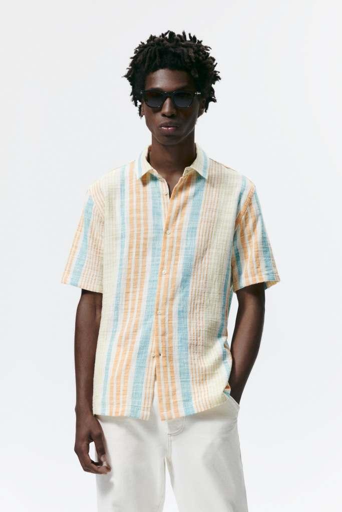 Camisas para un look relajado estructura de Zara