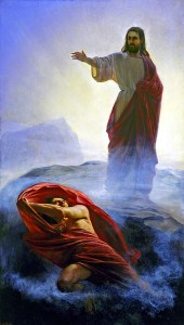Casting Away Satan by Carl Bloch