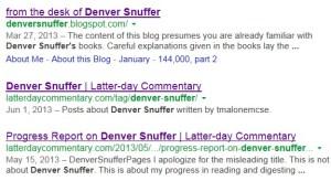 DenverSnufferGoogleSearch