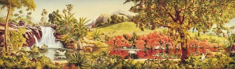GardenRoomMural