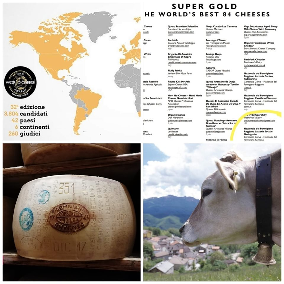 Premio Super Gold a World Cheese Awards 2019