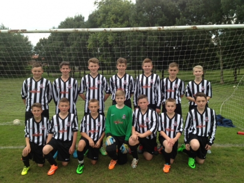 Abbeytown FC under 14 team