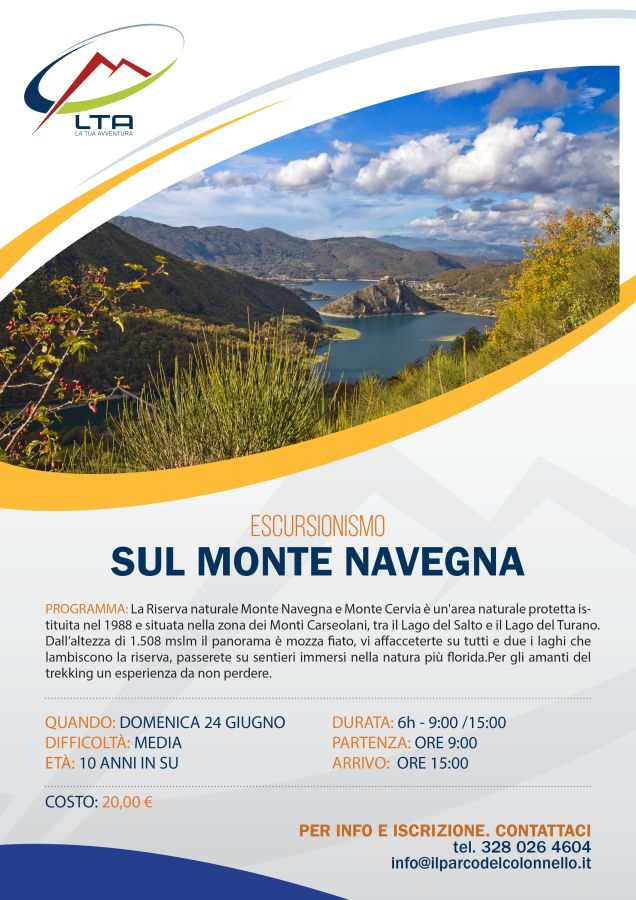 Canyoning sul Monte Navegna 24/06/2018