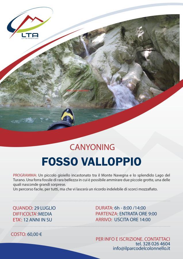 Canyoning Fosso Valloppio 29/07/2018