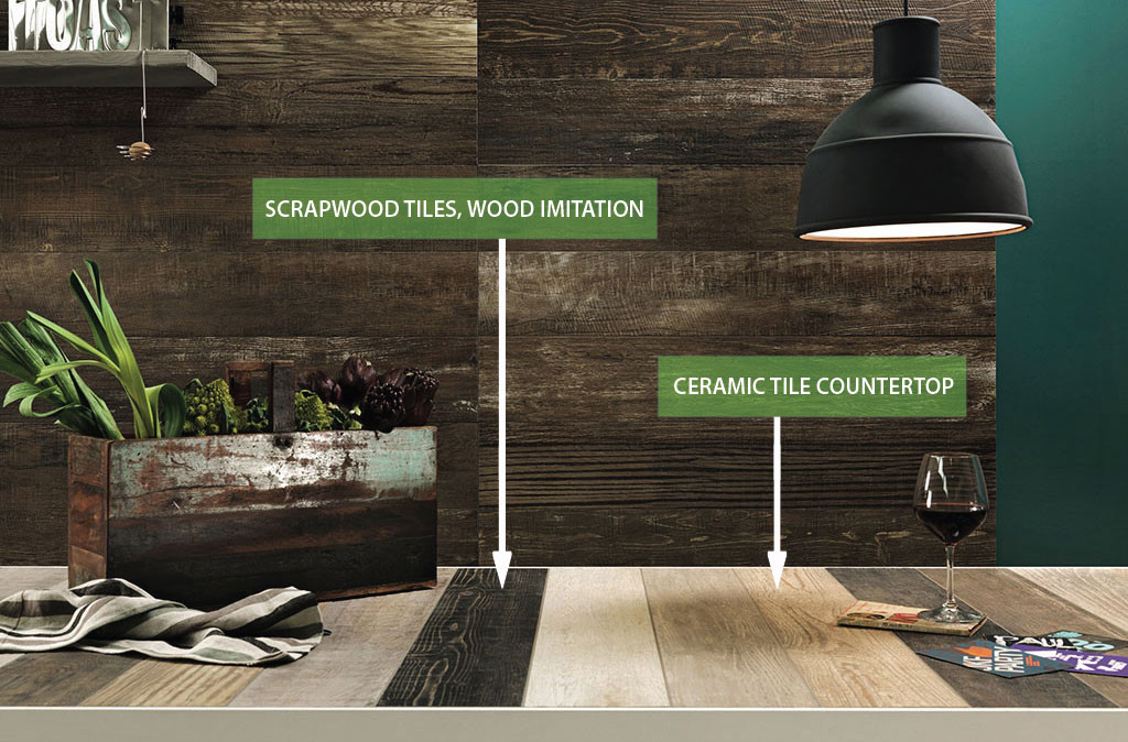 tile kitchen bobs furniture table 10 reasons why a ceramic countertop will make you love your scrapwood comptoir en ceramique