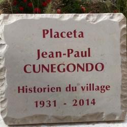 Plaque JP