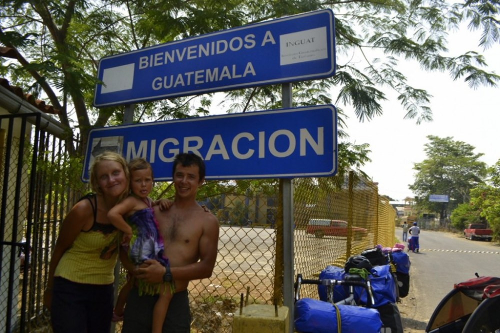 Made it into Guatamala!